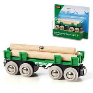 brio wooden train brio wooden railway lumber wagon at toystop