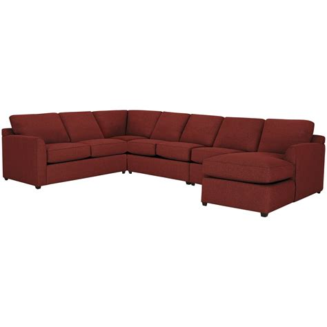 red sectional with chaise city furniture asheville red fabric large right chaise