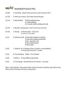 Basketball Practice Plan Template by Practice Plan Template Basketball Bestsellerbookdb