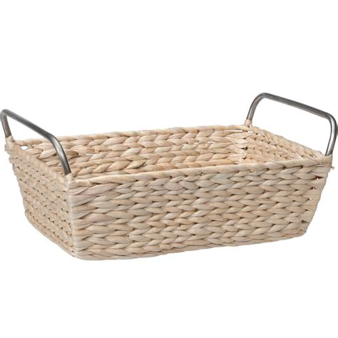 Baskets Bathroom by Bathroom Storage Basket In Wicker Baskets