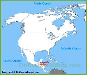 where is america located on the world map cayman islands location on the america map