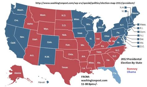 map us governors maps post 2012 elections president by county and state