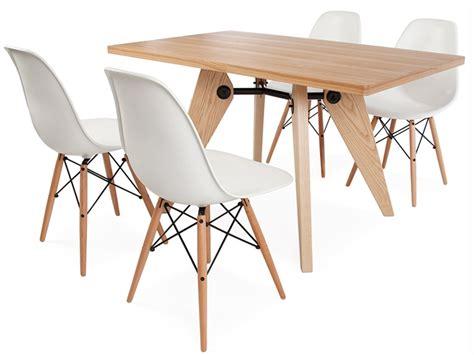 tavola con sedie tavola prouv 233 con 4 sedie