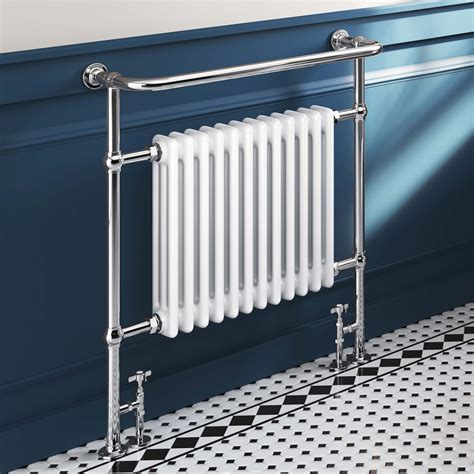 traditional bathroom radiator 952x839mm large traditional white towel rail radiator