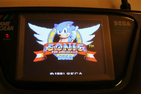 game gear light mod sega game gear internal chargeable battery mod
