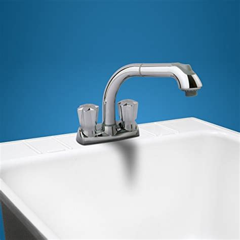 Laundry Faucet Installation by Cleanflo 480 Pull Out Laundry Faucet 3 Installation