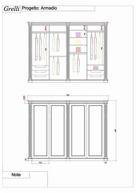 letto su armadio armadio progettato su misura con cassetti e appese