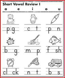 short vowel worksheets 1st grade kristal project edu