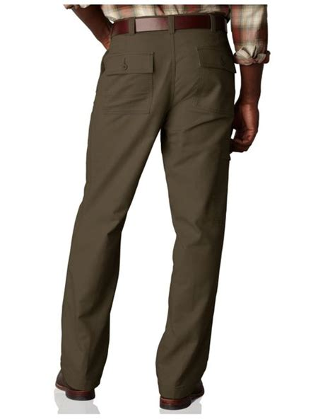 dockers comfort cargo pants dockers comfort khaki cargo big and tall classic fit flat