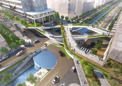 Landscape Architecture Korea Seun City Walk Seunsangga Seun High Line In Korea 3d