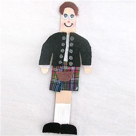 scottish crafts for scottish stick figure craft scottish play crafts