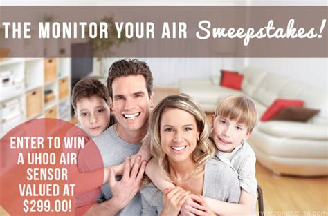 Airline Sweepstakes - the monitor your air sweepstakes