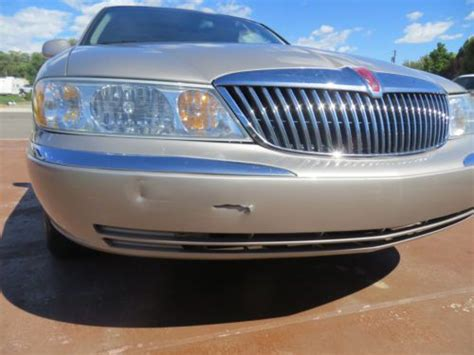 Intech Front And Rear Bumper sell used 2002 lincoln continental sedan 4 door 4 6l in bloomfield new mexico united states