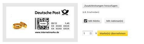 Briefmarken Online Drucken Post by Briefmarken Selbst Gestalten Und Ausdrucken So Geht S Bei