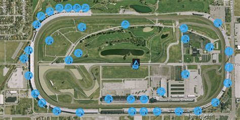 golf course at indianapolis motor speedway indianapolis motor speedway