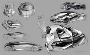 Lamborghini Sketch Lamborghini Perdigon Concept Design Sketches 01