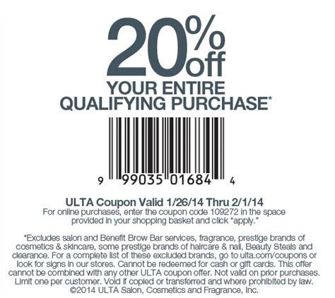 Ulta S Day Sale Ulta Discount Alert 20 Your Entire Qualifying