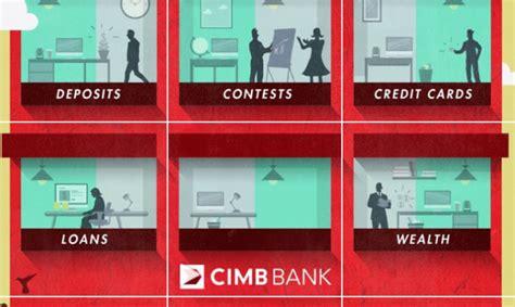cimb bank cimb creates an instagram branch marketing interactive
