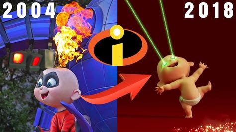 imagenes jack jack increibles jack jack powers incredibles vs incredibles 2 scene