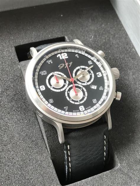 Porsche Watch by Porsche 911 Classic Chronograph Wap07000717 Porsche