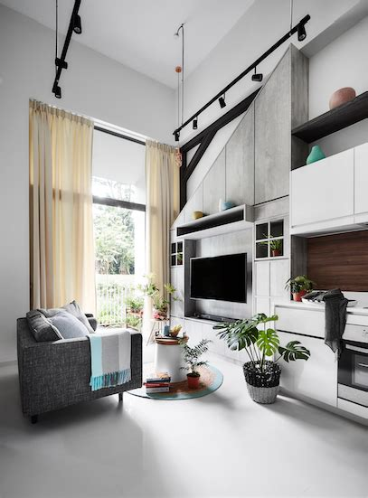 house renovation modern country themed bedroom condo home home decor singapore