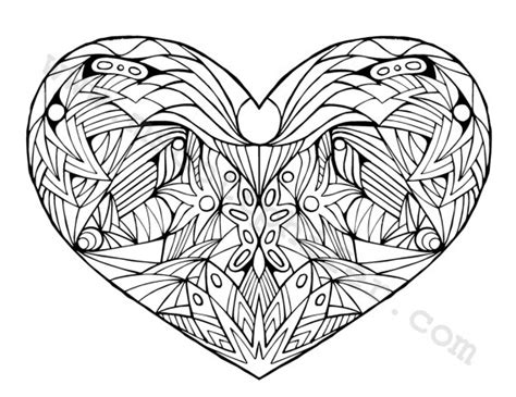 coloring pages for adults heart coloring page heart