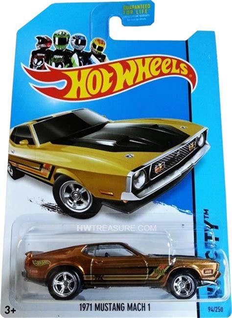 Wheels Hotwheels 1971 Mustang Mach 1 1971 mustang mach 1 wheels 2014 treasure hunt