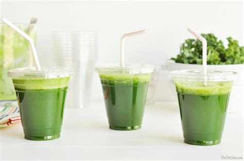 Green Juice Recipe Dishmaps