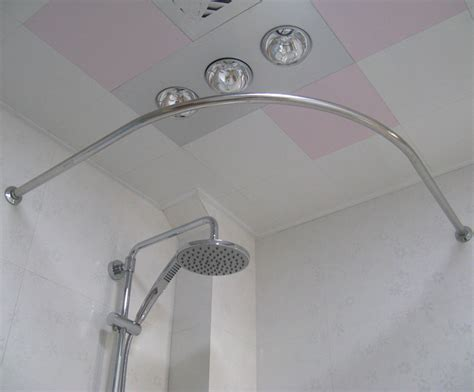 types of shower curtain rods curved curtain rod for corner curtain menzilperde net