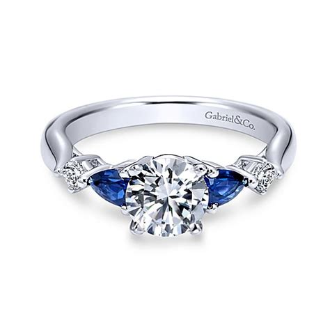 Wedding Rings With Sapphires And Diamonds by Sapphire Engagement Rings Blue Sapphire Rings