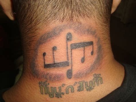 tattoo neck music music tattoos page 5