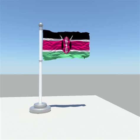 united kingdom flag 3d model obj fbx ma mb cgtrader kenya flag 3d model obj fbx ma mb cgtrader