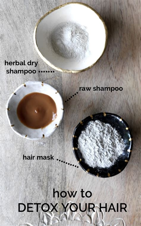 How To Detox Your Hair Naturally by 3 Ways To Detox Hair For Healthy Volume