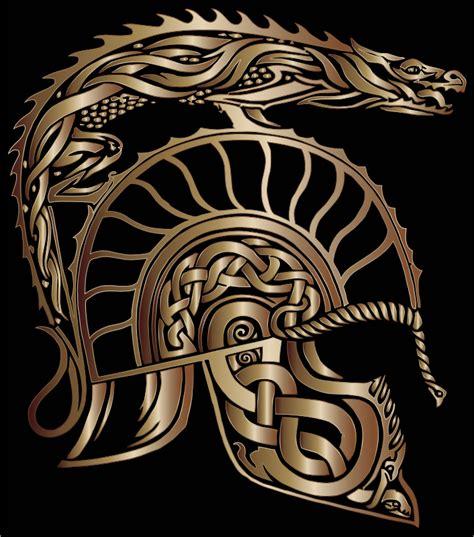 clipart children of hurin dragon helm bronze