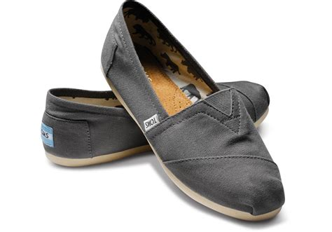 tom shoes ash canvas s classics toms