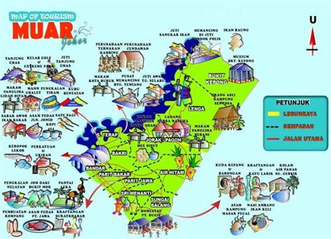 muar food  tourism place  interest