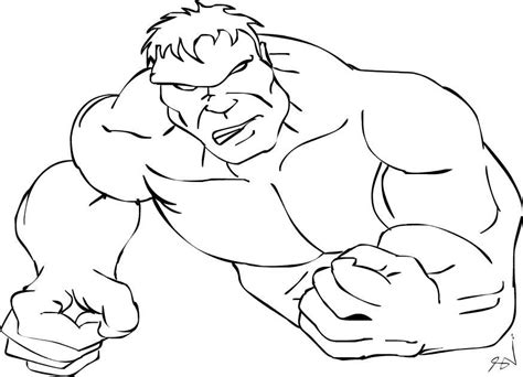 cute hulk coloring pages hulk cartoon pictures kids coloring