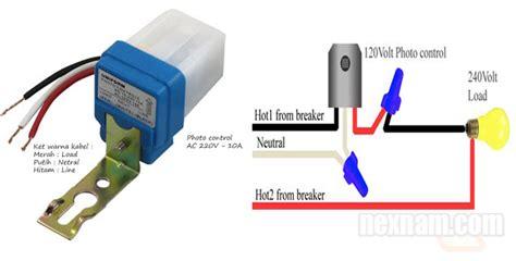 Saklar Lu Otomatis Timer instalasi listrik memasang saklar otomatis untuk lu