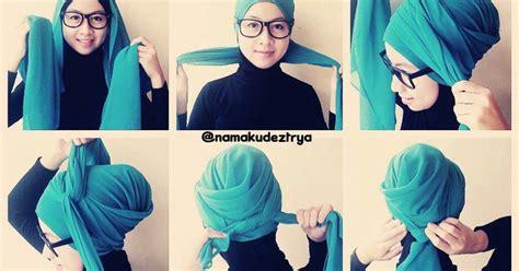 tutorial hijab turban ala ivan gunawan 30 foto tutorial hijab ala ivan gunawan terupdate tren