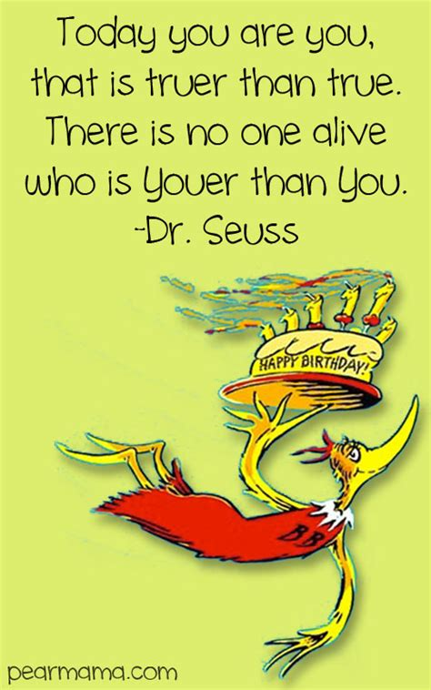 Dr Seuss Birthday Card Dr Seuss Birthday Quote Cards Birthday Quotes
