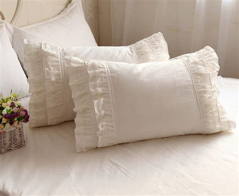 Cheap White Pillow by Get Cheap White Ruffled Pillow Shams Aliexpress