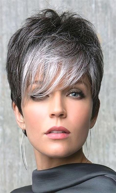short hairstyles grey hair pictures short curly grey hairstyles fade haircut