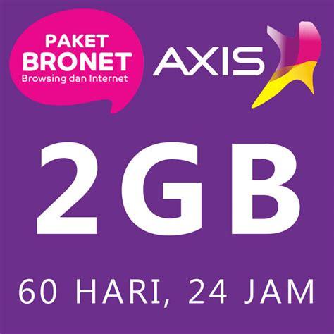 paket axis bronet 24 jam 1 timeband
