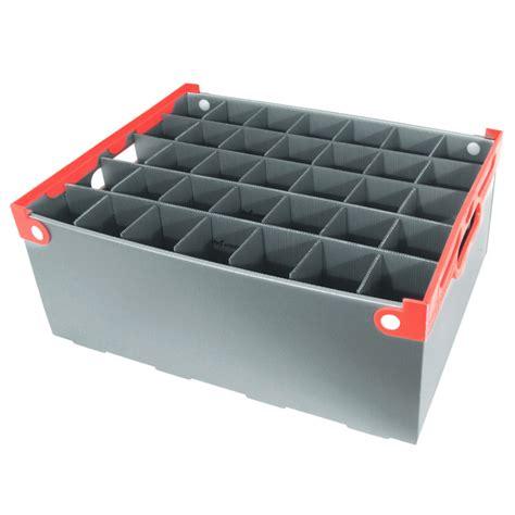 barware storage wine glass storage box 35 cell 190mm high barware uk