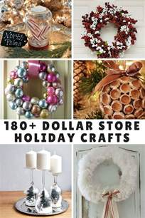 180 dollar store holiday crafts mom spark a trendy
