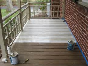 porch paint colors how to paint a wood deck or front porch we did subtle