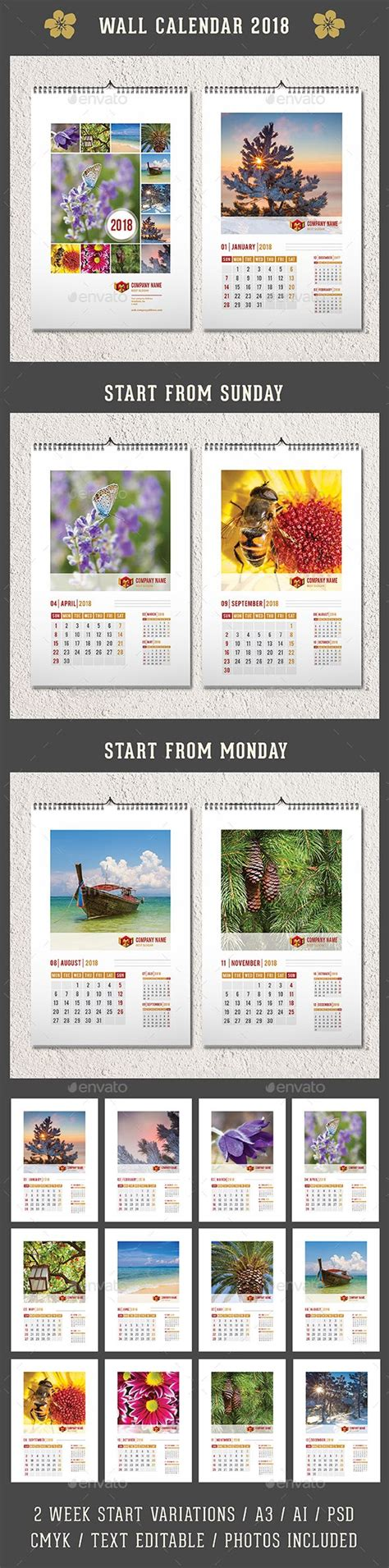 25 best ideas about calendar 2018 on pinterest free
