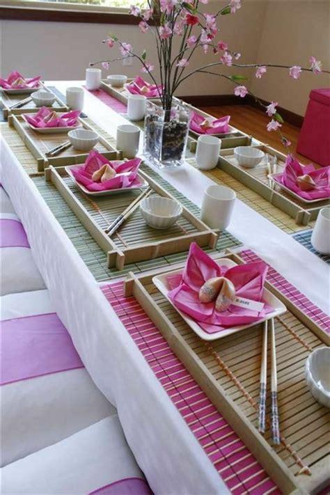 japanese party decorations would look awesome for my jpop asiatische tischdeko erkl 228 rung in 40 exotischen ideen
