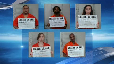 Chilton County Arrest Records Chilton County Search Results In Five Arrests Wbma