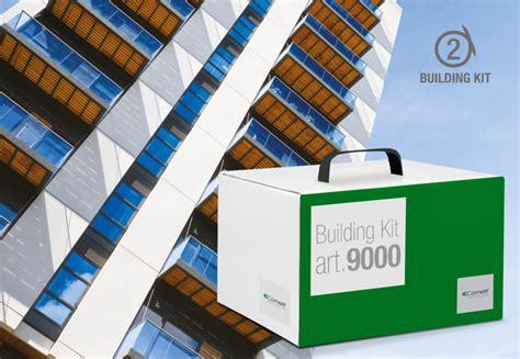 L Building Kit by Kit Comelit Base Di Impianto Videocitofonico Audio A